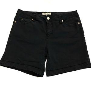 Royalty For Me Black Midi Shorts 14